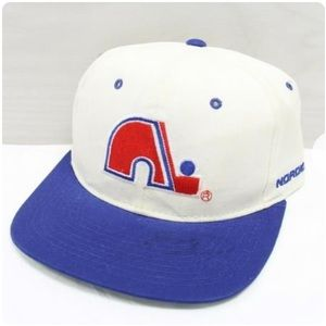 Vintage 90s Quebec Nordiques NHL Starter hat cap